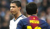Foto de Ronaldo, Messi y el pestilente olor del fútbol español